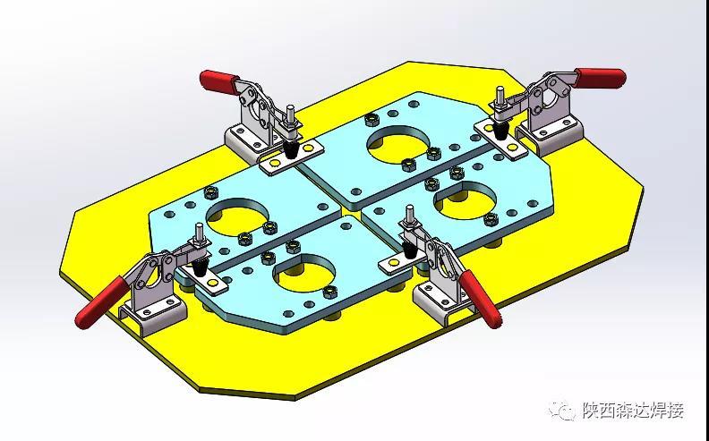 机器人焊接工装夹具与普通焊接夹具的区别?