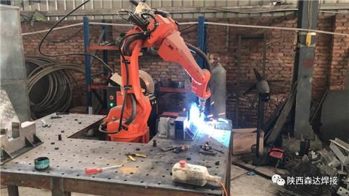 【森达焊接】汽车零部件焊接机器人案例……