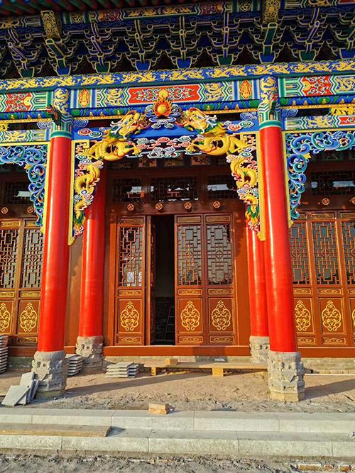 西安古建彩绘