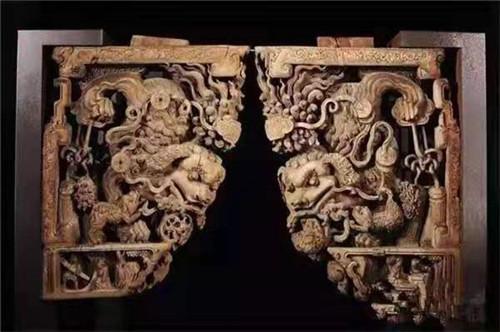 西安仿古木雕厂家制作