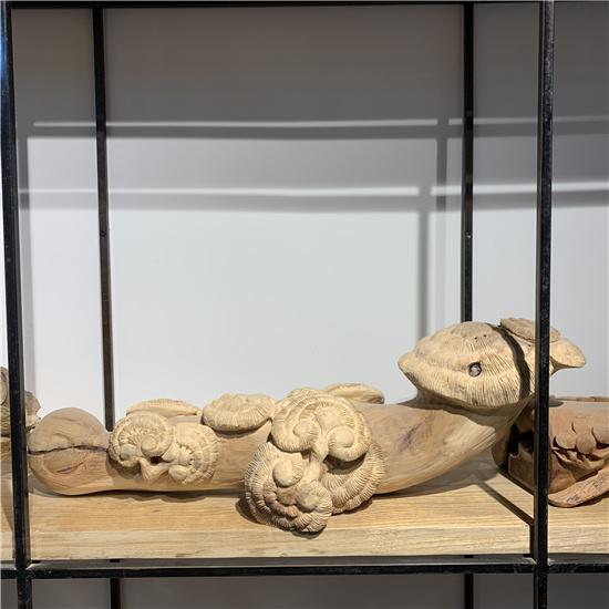 陕西仿古木雕