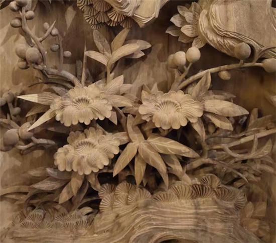 西安仿古木雕的木材