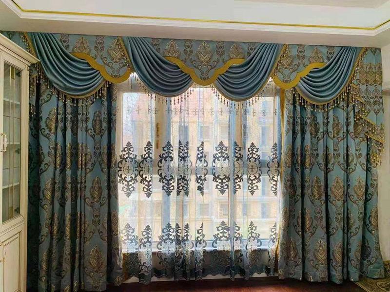 窗帘布艺欧式风格
