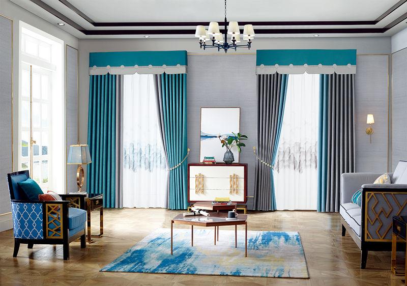 永和窗帘布艺定制