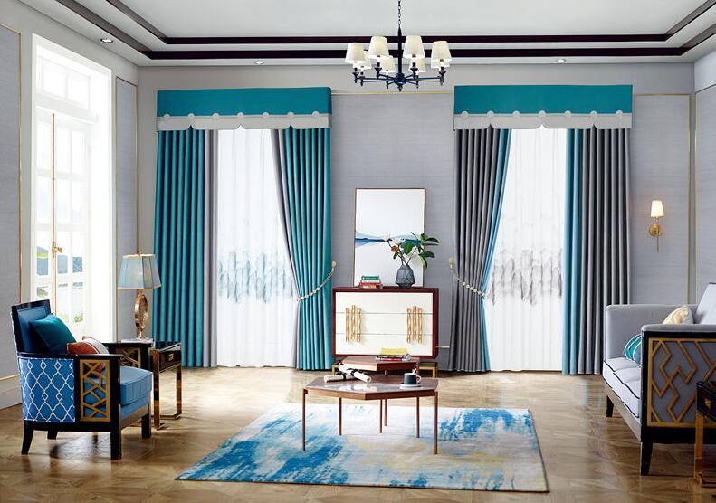 家里做窗帘选哪些材质的面料好?
