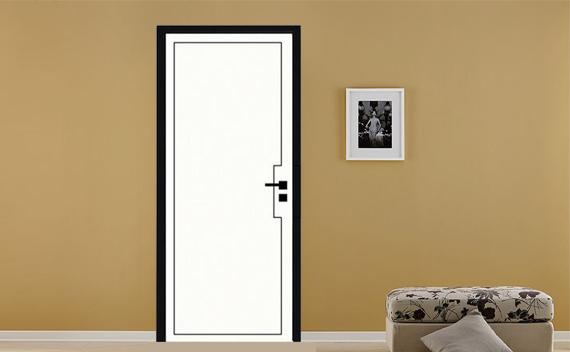 家庭装修时要注意木门风格的搭配与颜色的对比