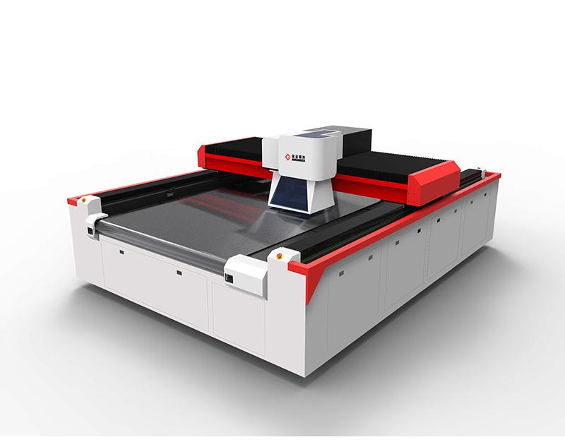 振镜激光高速打孔裁片一体机