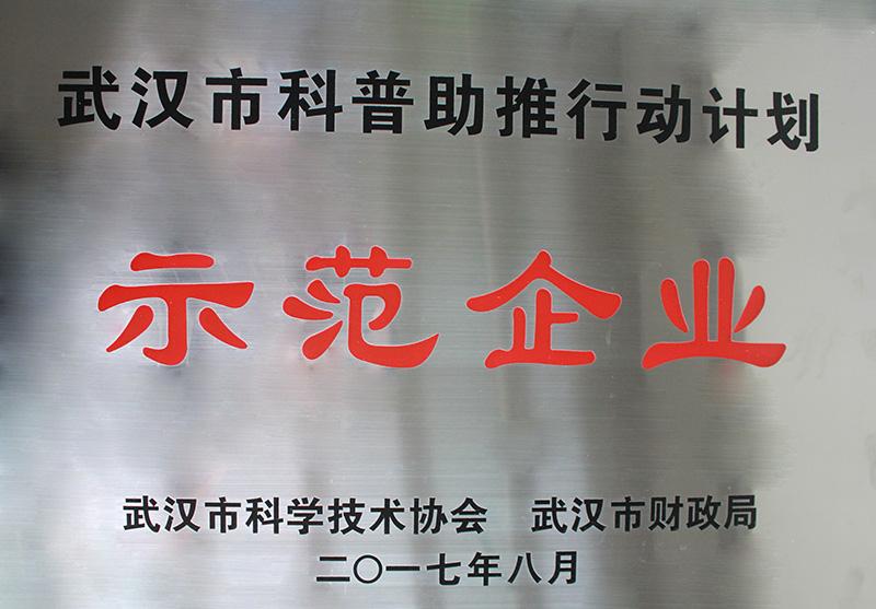 武汉市科普助推行动计划示范企业