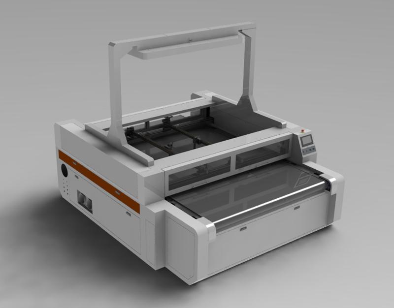 悬臂全能视觉激光切割机