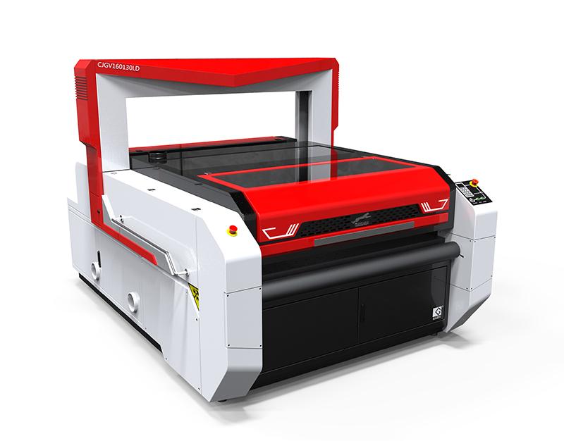 印花布料激光切割机