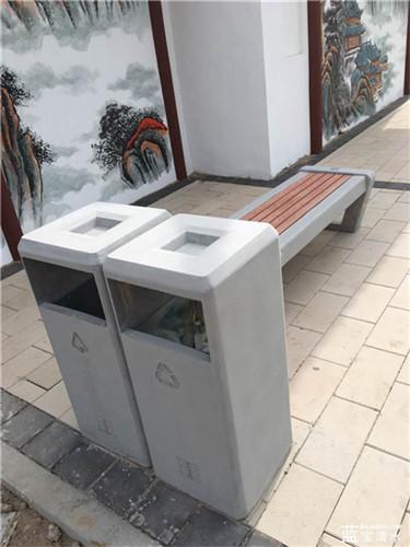 水泥垃圾桶
