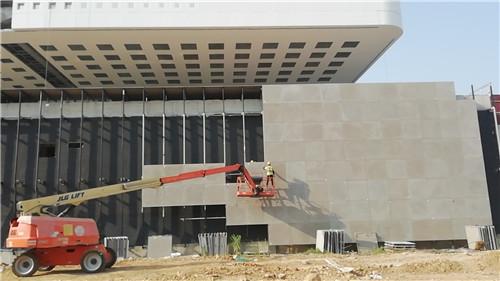 GRC幕墙板案例——湖北省科技馆新馆