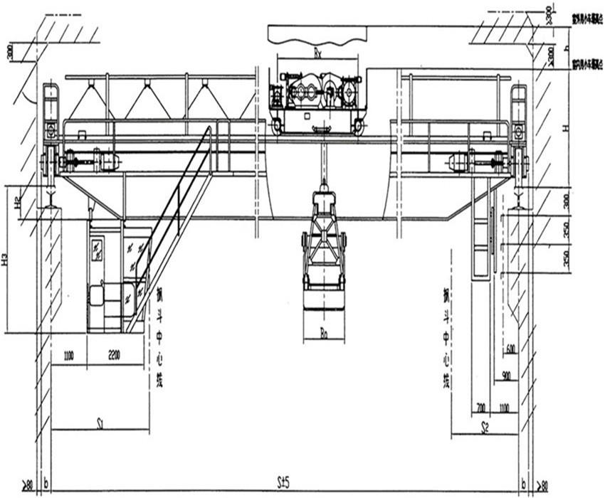 QZ型5~20噸抓斗橋式起重