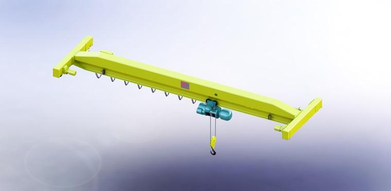 LDA電動單梁起重機