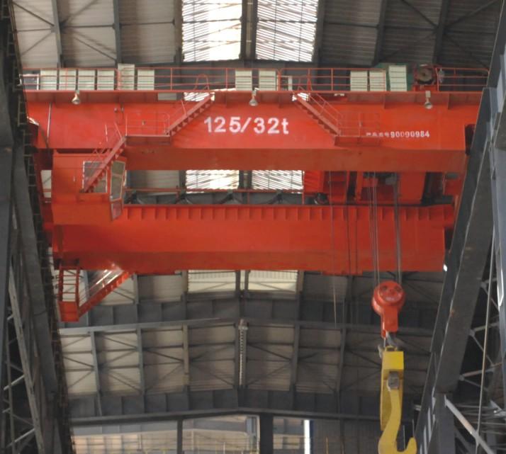 QD型125/50吨吊钩桥式