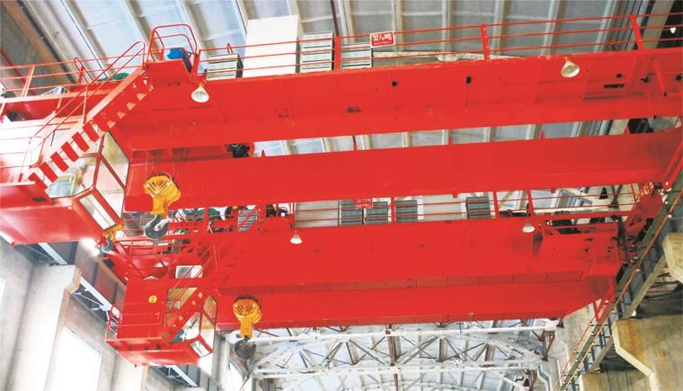 QDY型5~74吨吊钩式铸造起重机