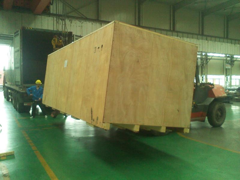 陕西西安木包装箱制作完成,准备送货
