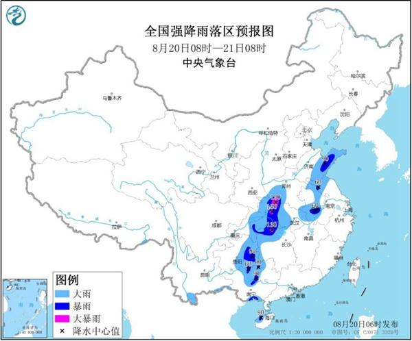 暴雨黄色预警!11省市区有大到暴雨,湖南湖北河南局地大暴雨
