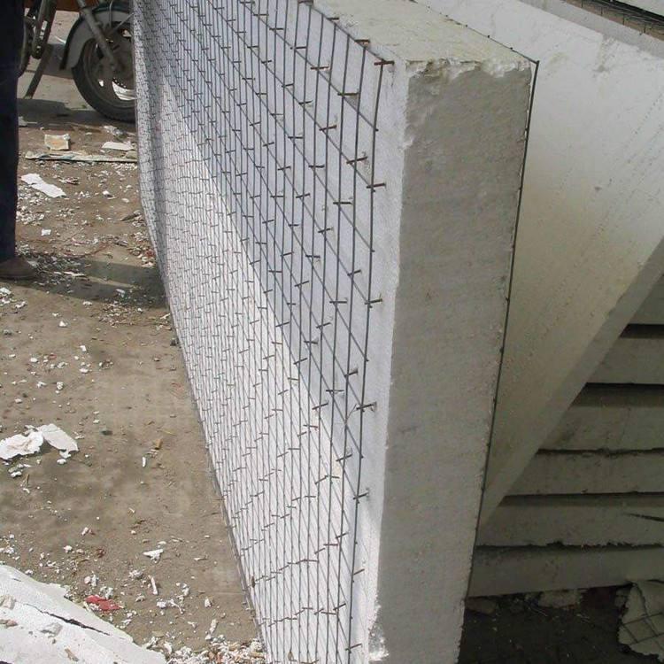 钢丝网架夹芯隔墙板施工