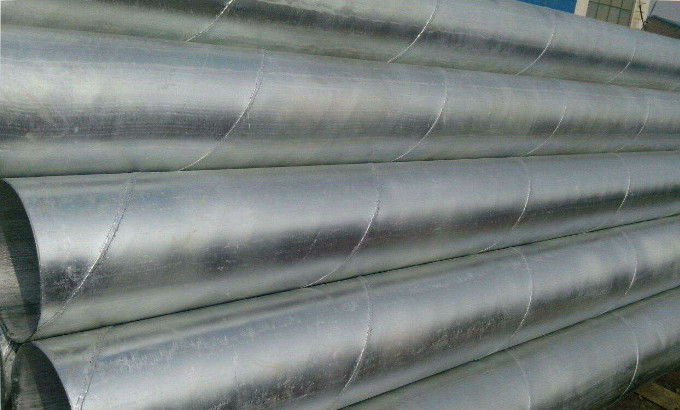 成都鍍鋅螺旋管
