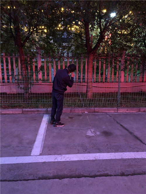 青海省玉树市州人民医院供热管漏水检测