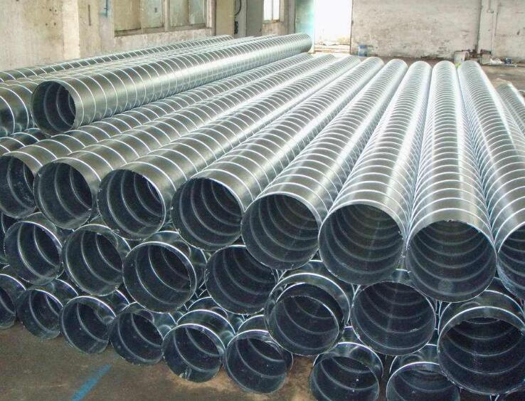 四川螺旋风管与矩形风管的区别及安装介绍