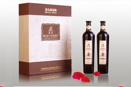 莫高葡萄酒包装设计