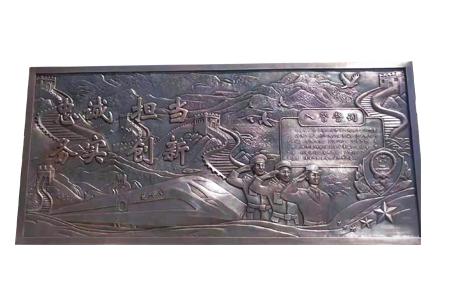 铜雕广告制作