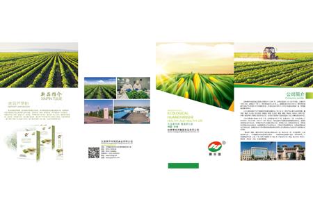 黄羊河集团画册设计