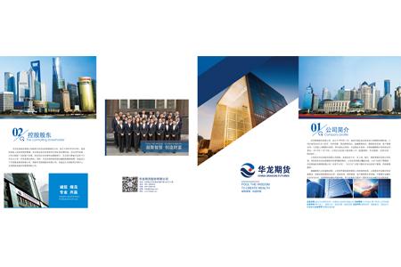 华龙期货股份有限公司成套画册设计案例