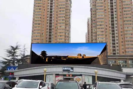 嘉峪关大景区兰州市区户外LED大屏联播广告投放案例