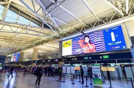 机场广告投放效果展示