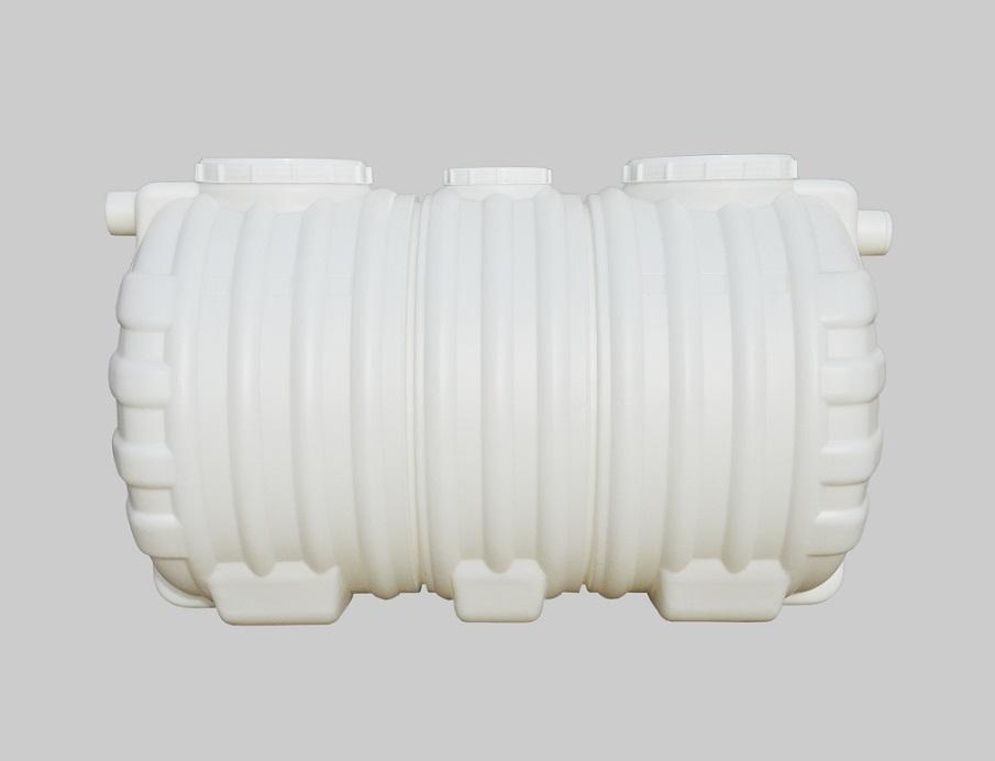 1.5立方PE整体式三格环保化粪池