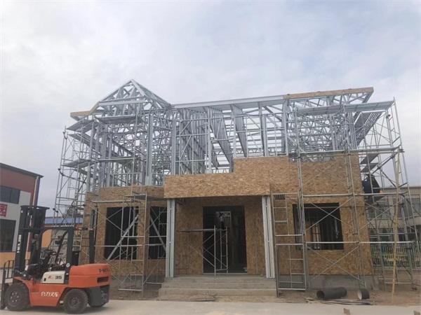 西宁轻钢别墅建设