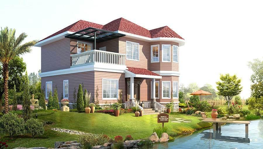 今天来探讨一下钢结构别墅在农村建设合不合适?