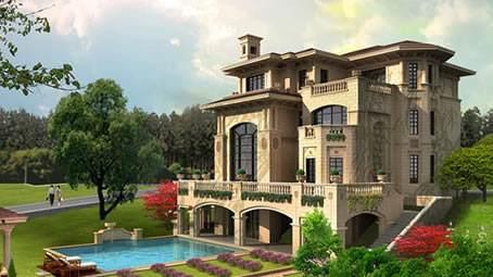 欧式风格轻钢别墅