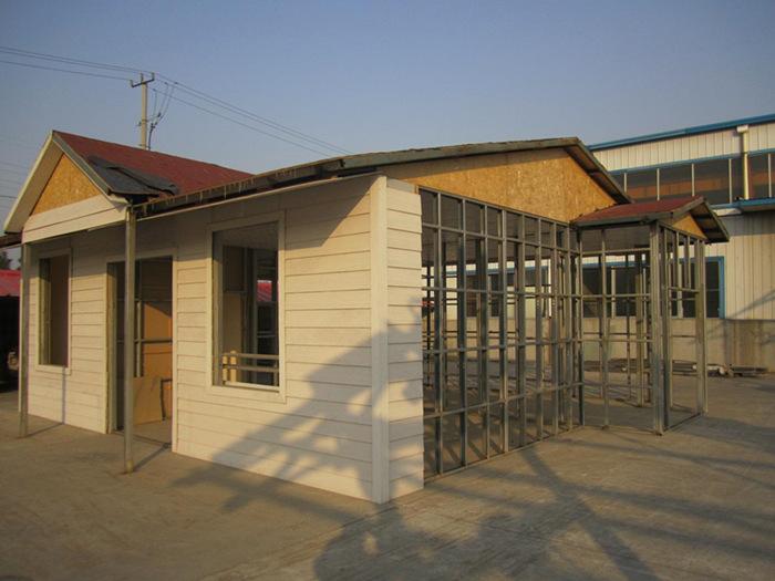 浅析轻钢别墅的安全性能