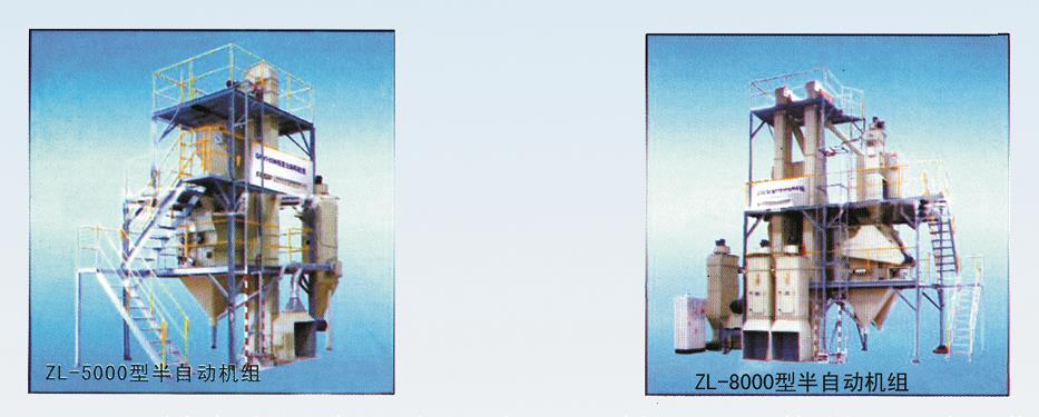 ZL-5000/8000型半自动加工机组