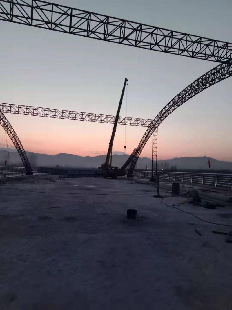 兰州钢结构桁架桥