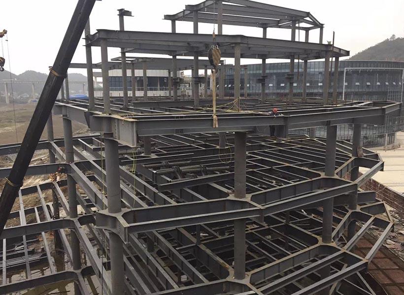兰州钢结构框架楼
