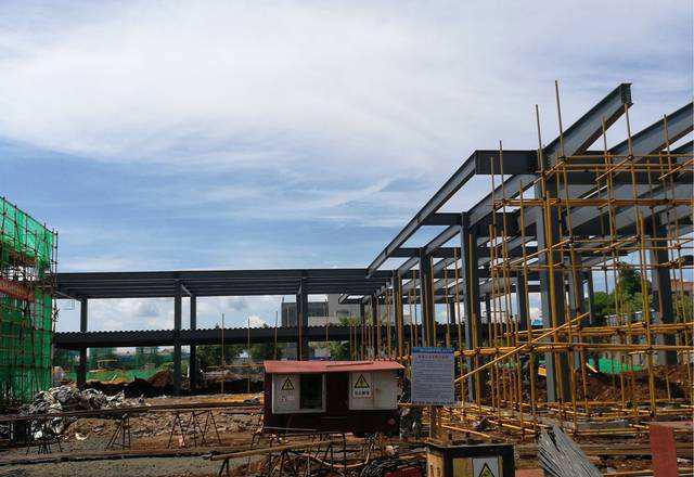 钢结构售楼部价格