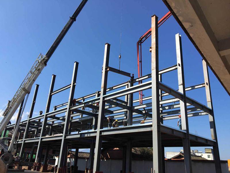 钢结构框架楼价格