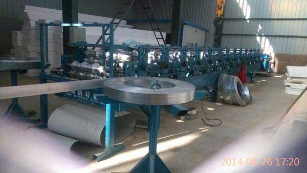 彩板带钢生产