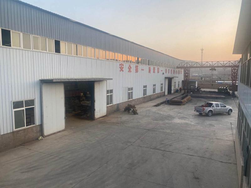 甘肃榆鑫钢结构厂区实景(图集)