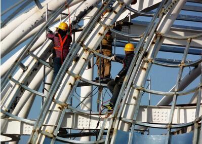 框架钢结构施工在结构形式上有什么变化?