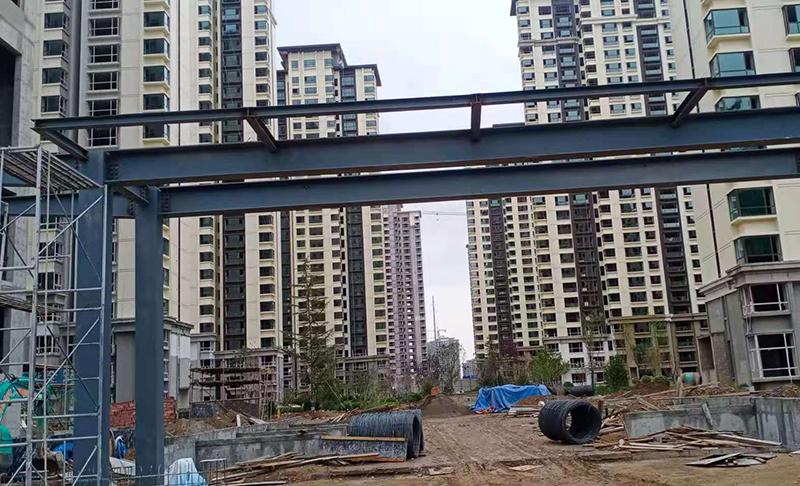 华润置地.未来城市F地块A、B户型样板间钢结构工程