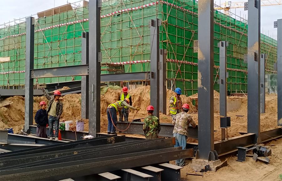 华润置地.未来城市B地块样板间钢结构工程