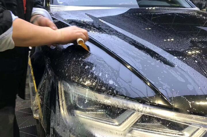 对于汽车贴膜的材料怎么样来辨别真假