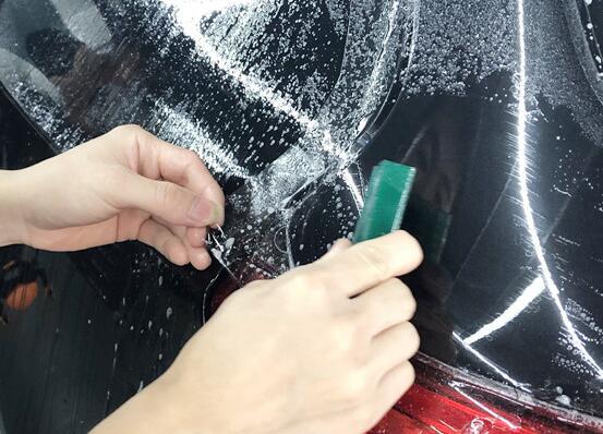 在隐形车衣使用的过程中,要注意的细节之处