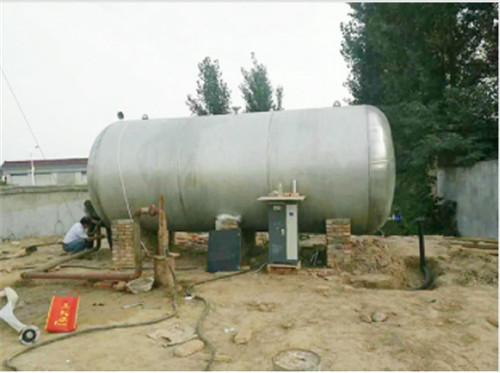 河南变频供水施工现场